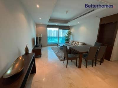 2 Bedroom Flat for Rent in Dubai Marina, Dubai - Partial marina   Unfurnished   Upgraded
