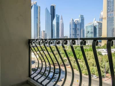 شقة 2 غرفة نوم للايجار في مركز دبي المالي العالمي، دبي - Spacious 2 Bedroom Apartment with Study Room