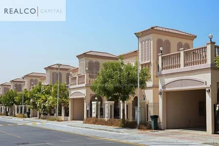2 Bedroom Villa for Rent in Jumeirah Village Triangle (JVT), Dubai - Mediterrenean Style 2BR+Maids With Huge Terrace and Garden