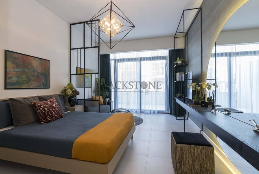 2 Luxurious Studio | 3 Years Payment Plan | Prime location