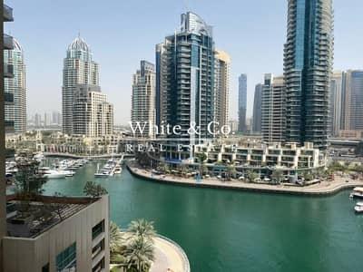 شقة 2 غرفة نوم للايجار في دبي مارينا، دبي - Marina View | Unfurnished | Chiller free