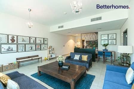 فیلا 4 غرف نوم للايجار في موتور سيتي، دبي - Single Row | Landscaped | Available 2 May 2021