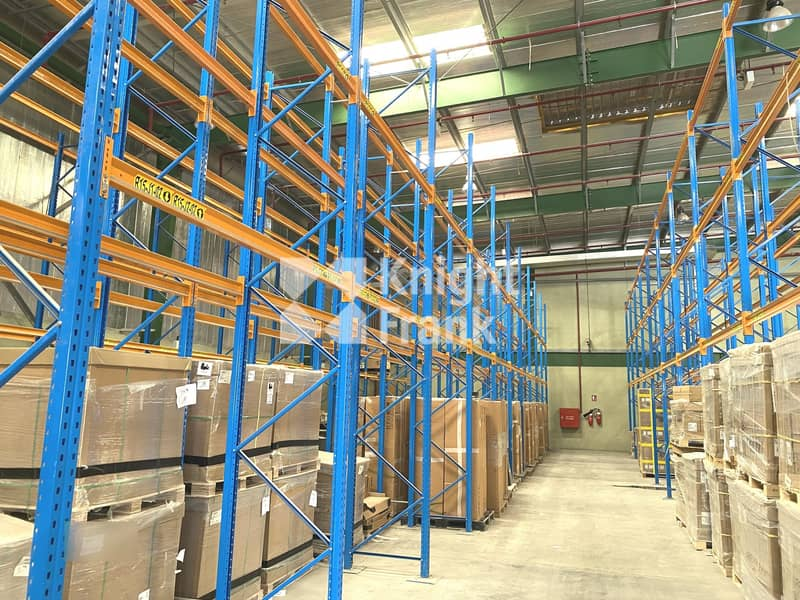 2 Racked Warehouse with Large Corporate Office