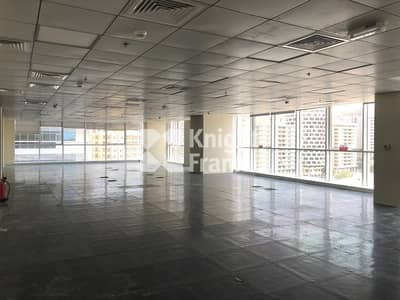 مکتب  للايجار في الدانة، أبوظبي - Cat A Office Space / Muroor Road