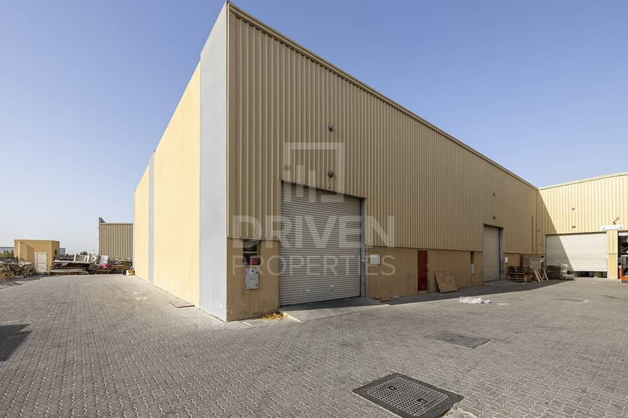 Rented Warehouse for Sale with High ROI