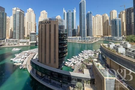 Office for Sale in Dubai Marina, Dubai - Great Location | Full Marina View | Furnished
