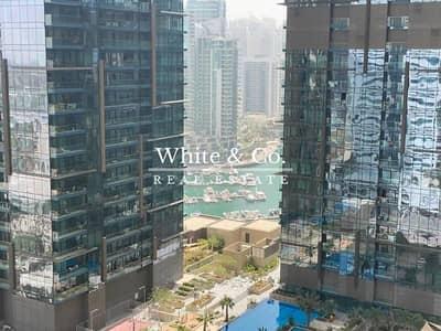 فلیٹ 1 غرفة نوم للايجار في دبي مارينا، دبي - Mid Floor   Unfurnished   Chiller free