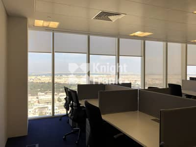 Office for Rent in Capital Centre, Abu Dhabi - Furnished Office Space / Capital Centre District