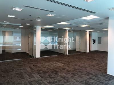مکتب  للايجار في الطريق الشرقي، أبوظبي - Fitted Office Space / Ministries Complex