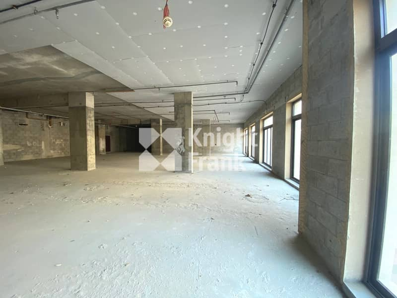 2 Shell & Core Office Spaces in Palm Jumeirah