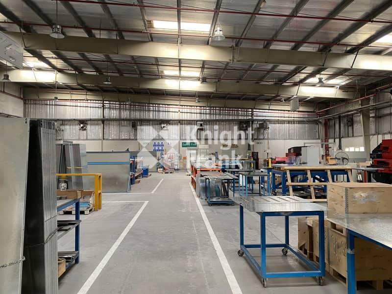 2 Warehouse   Factory with mezzanine racking