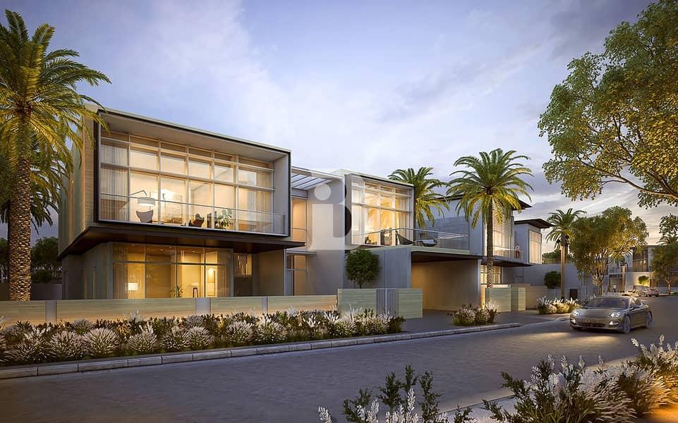 Modern style 4 bed villa big plot phase2