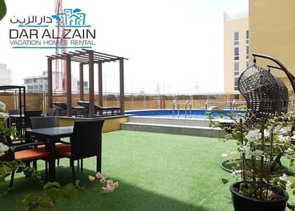 2 Bedroom Flat for Rent in Jumeirah Village Circle (JVC), Dubai - FULLY FURNISHED 2 BR APARTMENT IN JVC