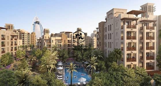 4 Bedroom Apartment for Sale in Umm Suqeim, Dubai - Luxurious Two Bedroom Apartment/ Jumeirah/ Burj Al Arab View/Asayel