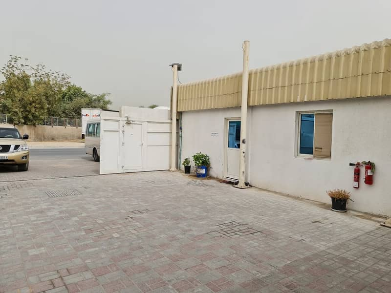 Land for Rent in Ras Al Khor Industrial area