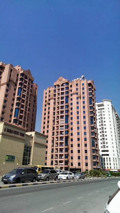 شقة 2 غرفة نوم للايجار في النعيمية، عجمان - شقة في أبراج النعيمية النعيمية 2 غرف 30000 درهم - 5035012