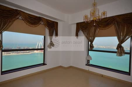 Full Sea View 3 BR+Maid's