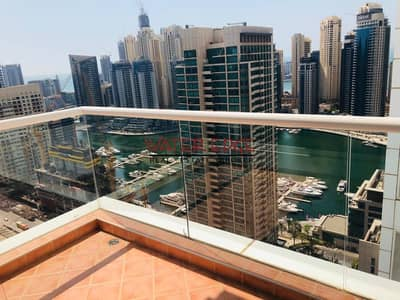 2 Bedroom Apartment for Rent in Dubai Marina, Dubai - Luxury Large 2 Bedrooms Marina View Chiller Free in La Rivera