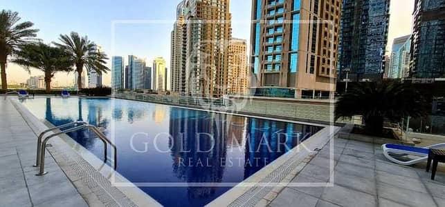 فلیٹ 1 غرفة نوم للايجار في دبي مارينا، دبي - Bright Cozy | Chiller Free | Fully Furnished Unit