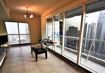 2 Bedroom Apartment for Rent in Jumeirah Lake Towers (JLT), Dubai - 2 Bedrooms | Lake View | Higher Floor