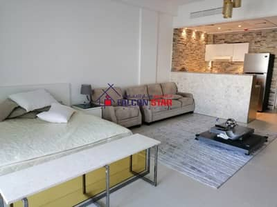 CONNECTED DEWA - LUXURY FURNISHED STUDIO l PAY MONTHLY 3,500/-