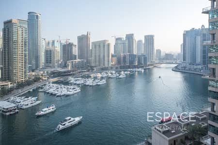 2 Bedroom Flat for Rent in Dubai Marina, Dubai - Marina View | 2 Bedrooms | Unfurnished