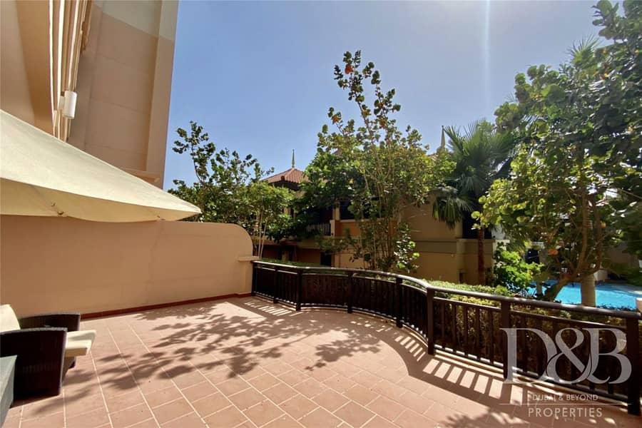 10 Ground Floor | Pool View | Huge Terrace