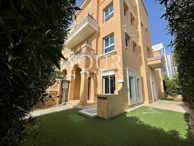 3 Bedroom Townhouse for Sale in Jumeirah Village Circle (JVC), Dubai - NK | VACANT | Corner 3BR+2 Livings + Basement TH