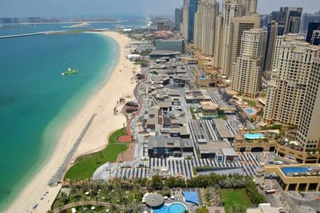 Beautiful 1BR with Part Sea View in Amwaj 4