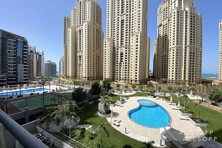 1 Bedroom Apartment for Sale in Dubai Marina, Dubai - Vacant | 1 Bedroom | Sea and Marina Views