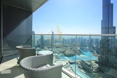 4 Bedroom Flat for Sale in Downtown Dubai, Dubai - 4BR+M The Address The Blvd | Burj and Fountain Views