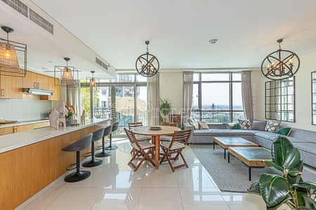 فلیٹ 3 غرف نوم للبيع في ذا فيوز، دبي - Stunning Triplex with Golf Course Views