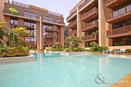 1 Bedroom Flat for Rent in Jumeirah Village Circle (JVC), Dubai - One Bedroom | Part Furnished | Park View