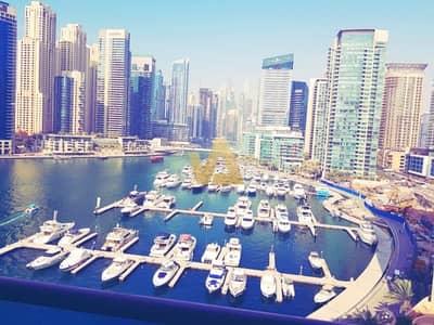 1 Bedroom Flat for Rent in Dubai Marina, Dubai - Full Marina and Yatch Club View |Vacant 1 BR |