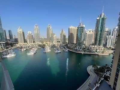 1 Bedroom Flat for Sale in Dubai Marina, Dubai - SPACIOUS|FULL MARINA VIEW|GREAT PRICE|VACANT
