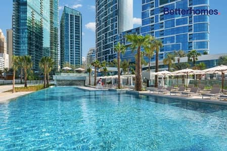 شقة فندقية 2 غرفة نوم للبيع في جميرا بيتش ريزيدنس، دبي - Full Luxury Sea View | Furnished | High Floor