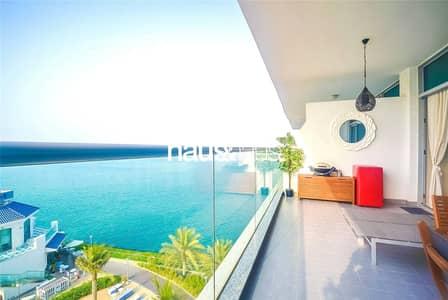 فلیٹ 1 غرفة نوم للبيع في نخلة جميرا، دبي - Full Sea View | Mid Floor | Vacant on Transfer