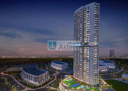 2 Bedroom Apartment for Sale in Arjan, Dubai - Fully Furnished | Easily accessible | Miracle Garden view |