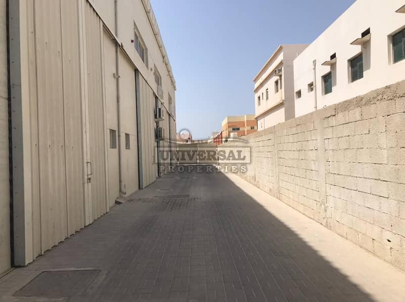 2000 Sqft العلامة التجارية الجديدة مستودع للإيجار في منطقة جرف الصناعية، عجمان