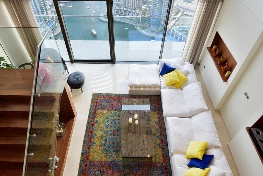 Genuine Luxury Duplex Penthouse | Full Marina View