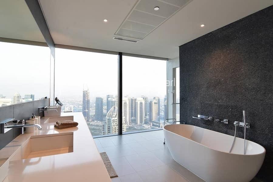 10 Genuine Luxury Duplex Penthouse | Full Marina View