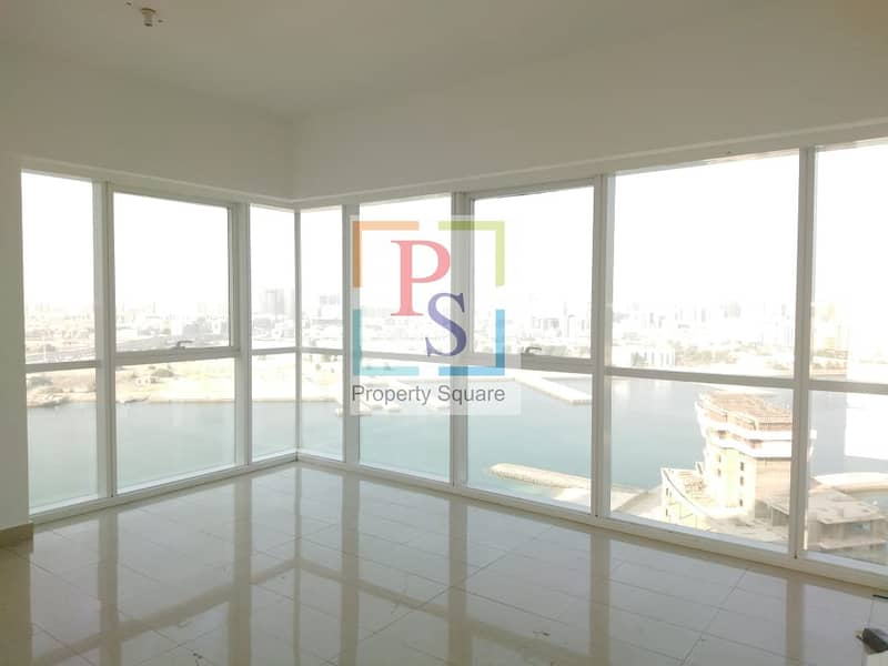 2 Hot Deal..! 3BR Apt With Balcony in Marina Square