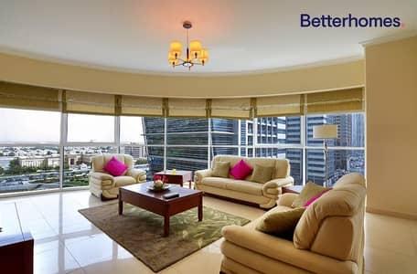 فلیٹ 2 غرفة نوم للايجار في أبراج بحيرات الجميرا، دبي - Fully furnished   Large 2 bedroom   1405 sq.ft