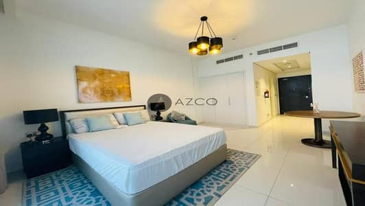 Studio for Rent in Jumeirah Village Circle (JVC), Dubai - Fully Furnished | Massive Layout | Glass Balcony