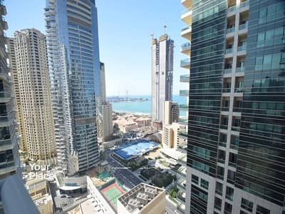 2 Bedroom Apartment for Rent in Dubai Marina, Dubai - Available Now | Sea View | Multiple Cheques