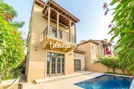 فیلا 4 غرف نوم للبيع في عقارات جميرا للجولف، دبي - New Listing | Sawgrass | Rectangular Pool