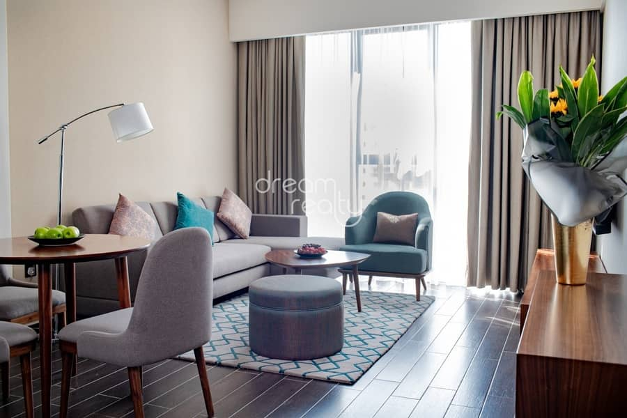 FURNISHED&SPACIOUS  2 BR   FOR SALE/NET ROI 8% IN MILANO BOUTIQUE