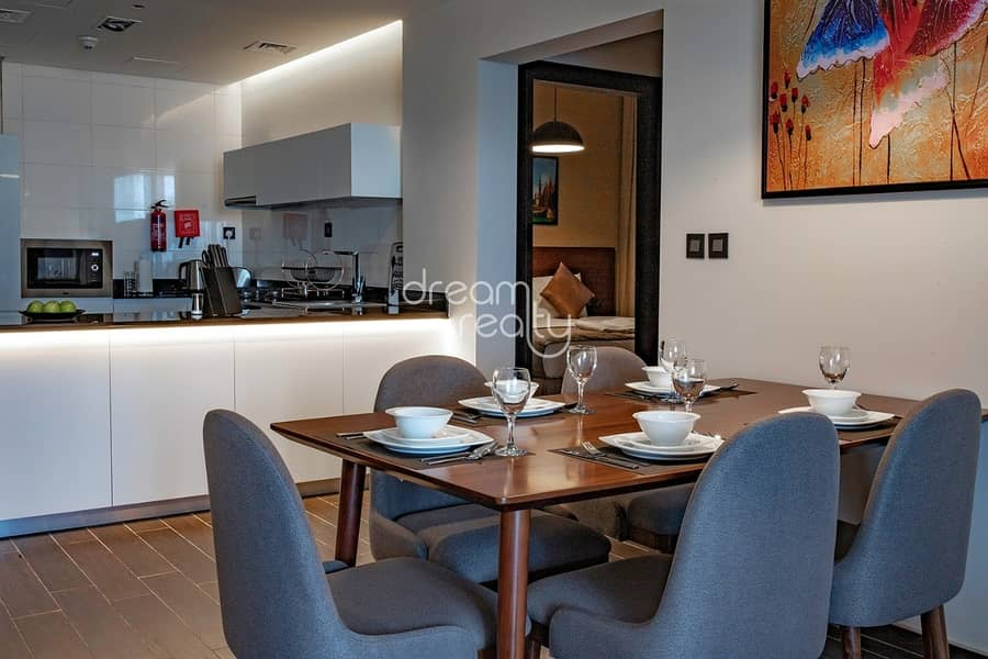 2 FURNISHED&SPACIOUS  2 BR   FOR SALE/NET ROI 8% IN MILANO BOUTIQUE