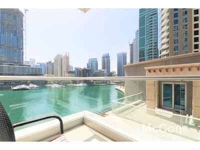 2 Bedroom Flat for Sale in Dubai Marina, Dubai - Upgraded | Marina View | Vacant on Transfer