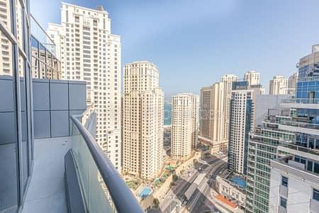 Unfurnished 3 bedrooms apartment in Dubai Marina